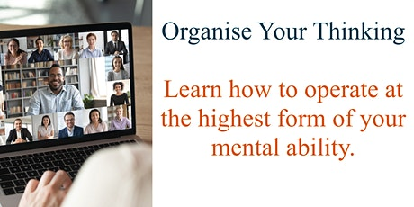 Organise Your Thinking tickets