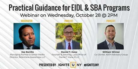 Practical Guidance  for EIDL & SBA Programs tickets