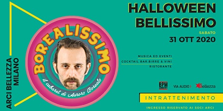 Halloween Bellissimo: Borealissimo, il Cabaret di Auroro Borealo biglietti
