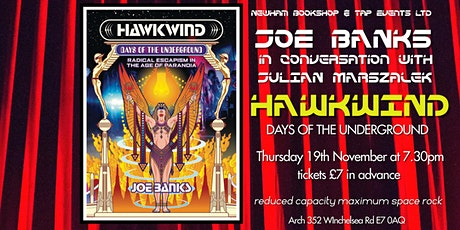 "Joe Banks  ""Hawkwind: Days of the Underground"" tickets"