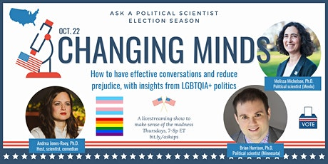 Ask a Political Scientist: Election Season -- Changing minds tickets