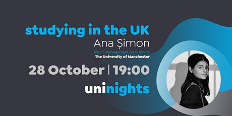 uniNights 28 Oct - Study abroad in the UK tickets