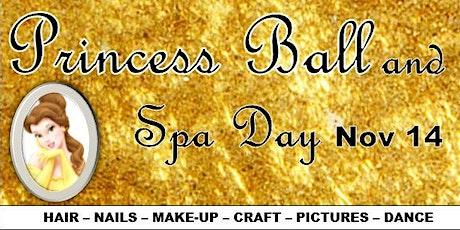 Princess Ball & Spa Day tickets