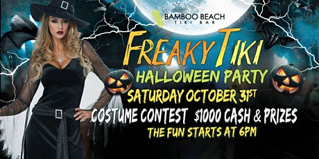 FREAKY TIKI Halloween Party and Costume Contest tickets