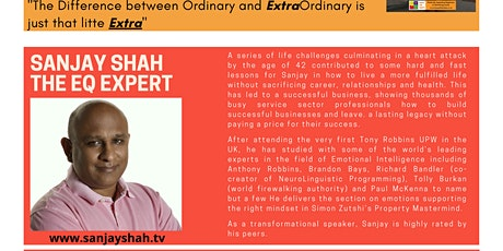 Inspiration Point Episode 4: Sanjay Shah - The EQ Expert tickets