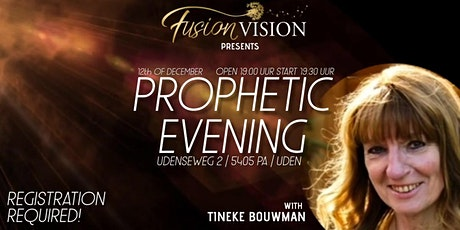 Prophetic Evening // Tineke Bouwman tickets