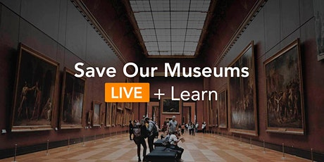 Save our Museums; Introduction to Crowdfunding tickets