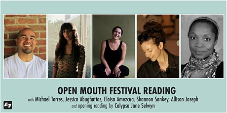 Open Mouth Poetry Festival - Reading on 10/30 tickets