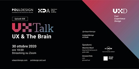 19° UX Talk - UX & The Brain (ZOOM Edition) biglietti