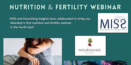 Nutrition & Fertility Webinar tickets