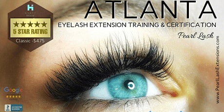 Volume Eyelash Extension Training -  January 25th, 2021 | Pearl Lash tickets