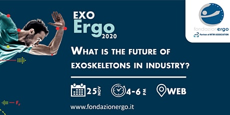 EXO-Ergo 2020 - What is the future of exoskeletons in industry? tickets
