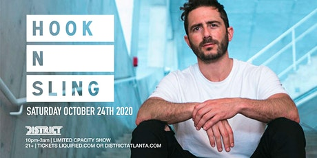 HOOK N SLING | Saturday October 24th 2020 | District Atlanta tickets