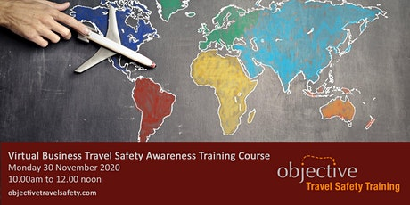 Virtual Business Travel Safety Awareness Training Course tickets
