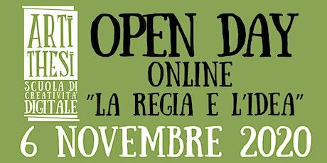 Open day online REGIA biglietti