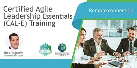 Certified Agile Leadership Essentials (CAL-E) Training tickets