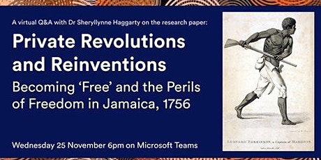 Private Revolutions and Reinventions: Jamaica, 1756 tickets