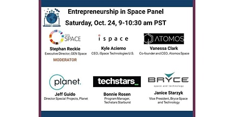 Entrepreneurship in Space tickets