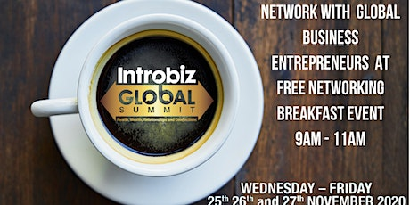 Pre-Summit Online Global Business Networking Events tickets