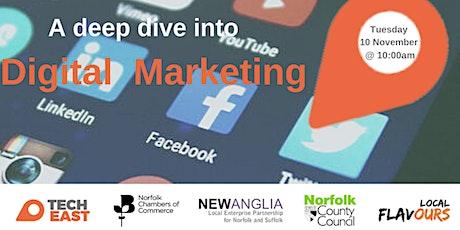 Deep Dive into Digital Marketing tickets