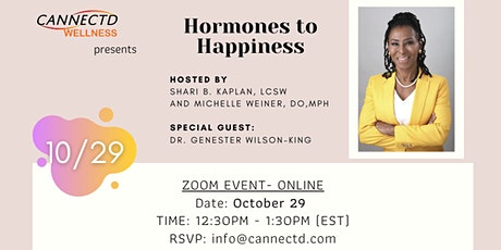 Hormones to Happiness tickets