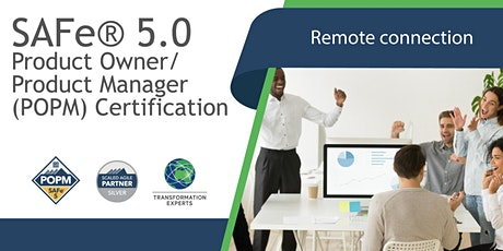 REMOTE | SAFe® 5.0 Product Owner / Product Manager (POPM) Certification tickets