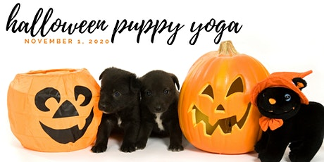Halloween Puppy Yoga - 1pm Session tickets