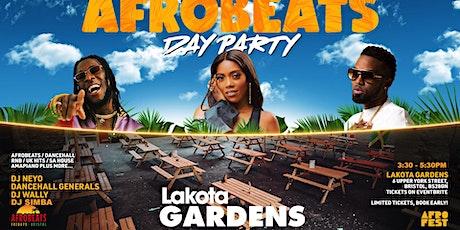 Afrobeats Day Party at Lakota Gardens tickets