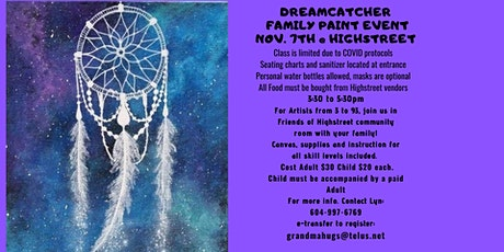 Highstreet Dream Catcher Paint Event tickets