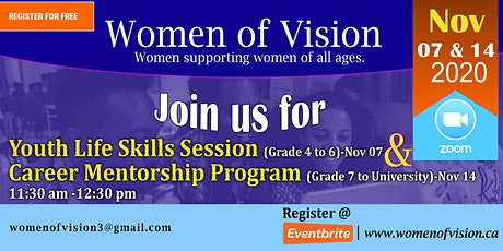 Youth Life Skills Session & Career Mentorship Program tickets