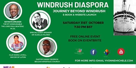 Windrush Diaspora E-Book and Website Launch tickets