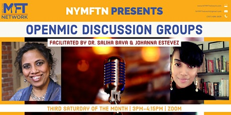 November NYMFTN OpenMic Discussion Group tickets