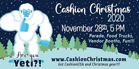 are you YETI for Christmas ~ Cashion Christmas Parade 2020 tickets
