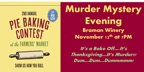 Murder Mystery Evening at Braman Winery tickets