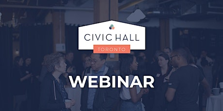 Webinar: Using Tech to Reduce Homelessness in Our City During Covid tickets