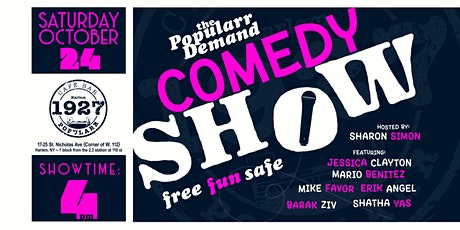 Copy of The Popularr Demand Comedy Show tickets