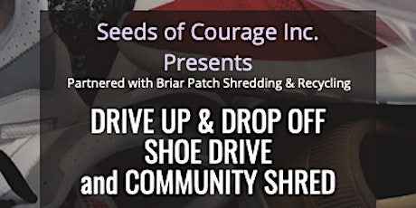 Drive Up and Drop Off Shoe Drive and Community Shr tickets