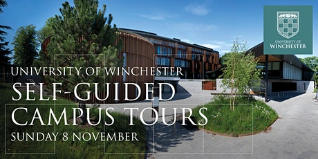 University of Winchester: Self-Guided Campus Tours on Sunday 8 November tickets