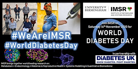 We Are IMSR: World Diabetes Day - What are researchers working on? tickets