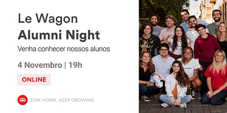 Alumni Night | Conheça nossos Alumni! | Le Wagon BH ingressos