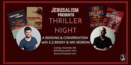 Thriller Night tickets