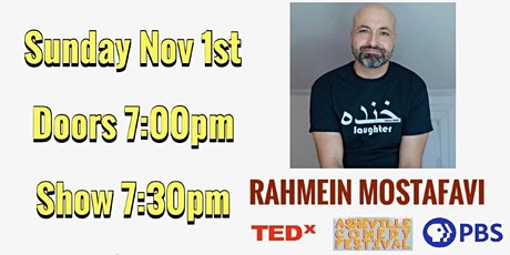 Comedy with Rahmein Mostafavi (DC Improv, TedX, PBS) and Friends! tickets
