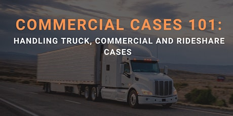 Free Virtual CLE: Commercial Cases 101 tickets