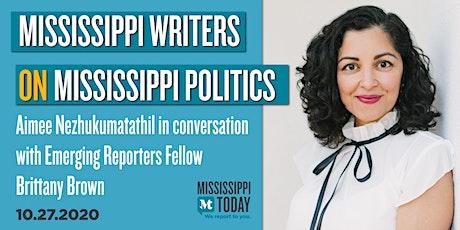 Mississippi Writers on Mississippi Politics: Aimee Nezhukumatathil tickets