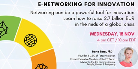eNetworking for Innovation tickets