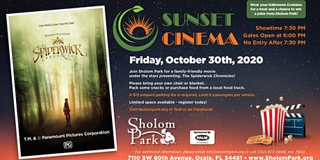 Sholom Park's  Sunset Cinema tickets