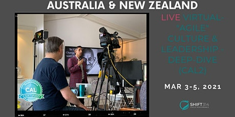 "ONLINE Live Virtual ""Agile"" Culture & Leadership - Deep-dive (CAL2)- AU/NZ tickets"
