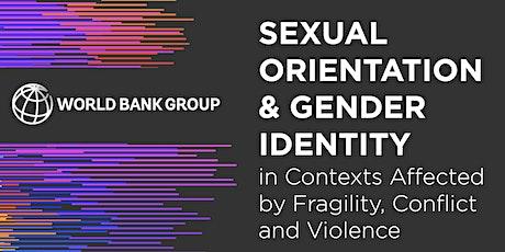 LGBTI Challenges in International Development (World Bank) tickets