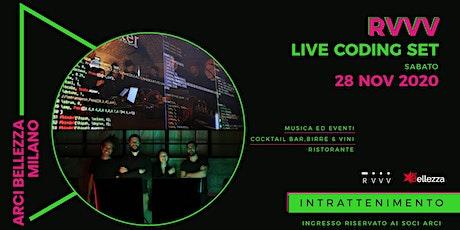 RVVV Live Coding biglietti