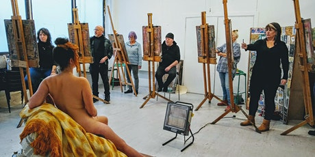 Life Drawing Weekend with Carolyn Bew (March) tickets